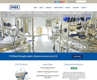 Ives Equipment Website